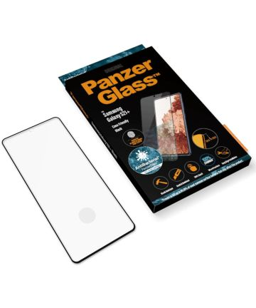 PanzerGlass Samsung Galaxy S21 Plus Screenprotector Antibacterieel
