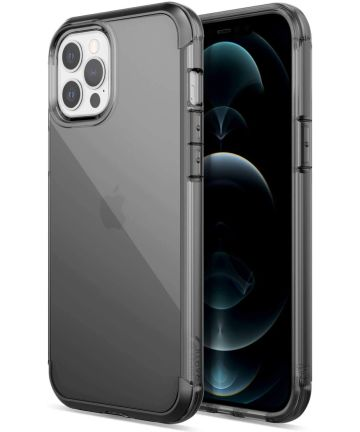 Raptic Air Apple iPhone 12/12 Pro Back Cover Hoesje Zwart
