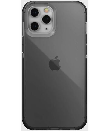 Raptic Clear Apple iPhone 12 Pro Max Hoesje Transparant/Zwart