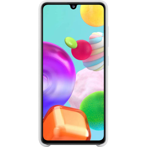 Samsung Galaxy A41 Silicone Cover Wit