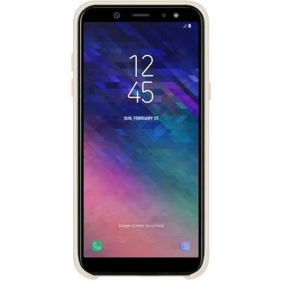 Samsung Galaxy J6 Dual Layer Cover Goud