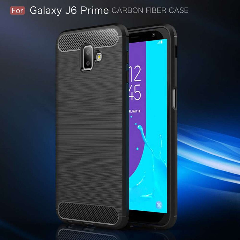 Just in Case Rugged TPU Samsung Galaxy J6 Plus Case Zwart