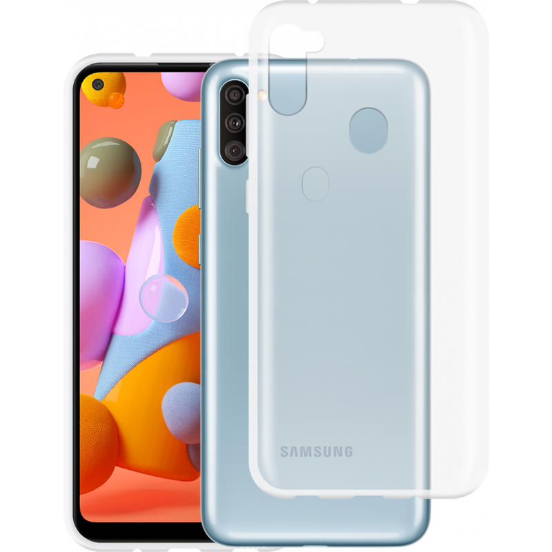 Just in Case Samsung Galaxy M11 Soft TPU case Transparant