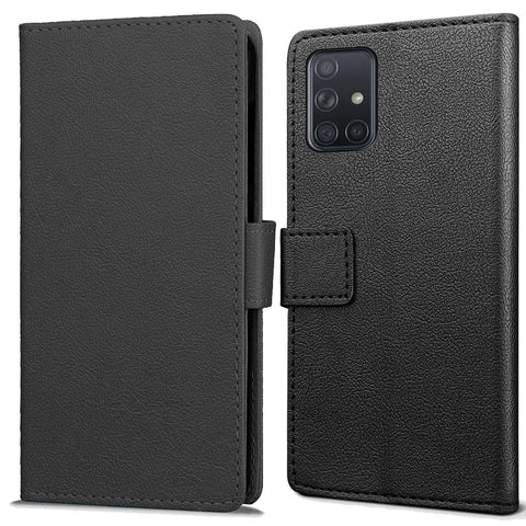 Just in Case Samsung Galaxy M31s Wallet Hoesje Zwart
