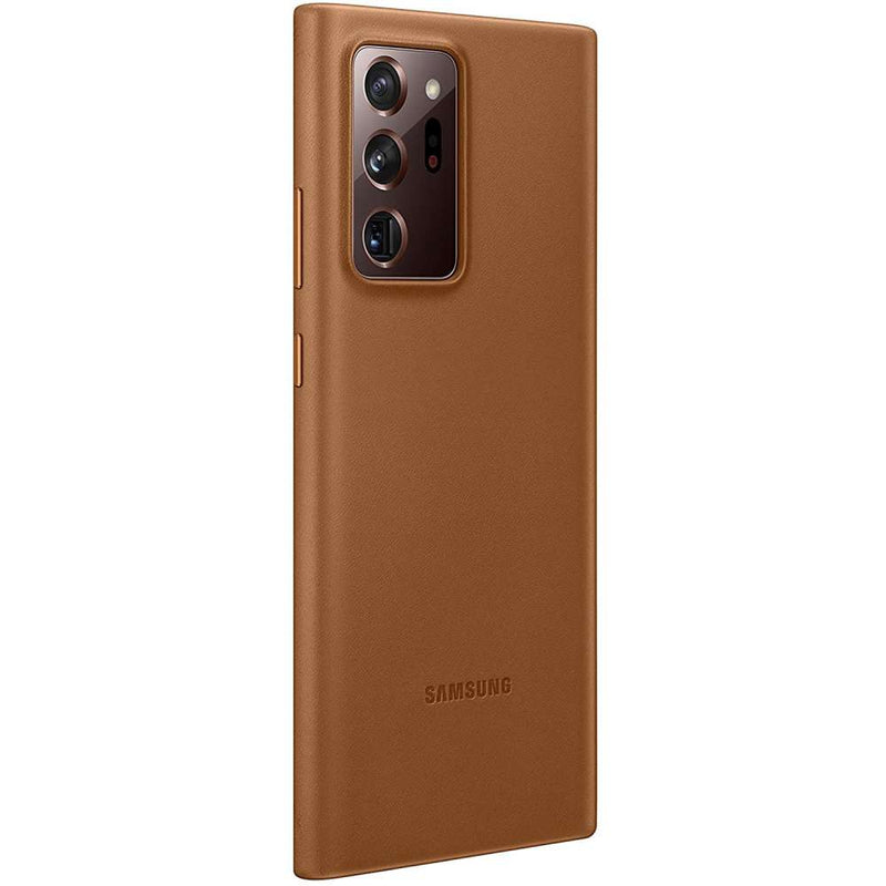 Samsung Galaxy Note 20 Ultra Leather Cover Bruin