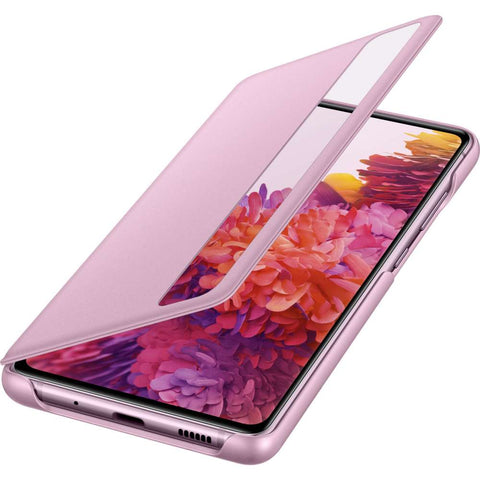 Samsung Galaxy S20 FE Clear View Cover Violet Roze
