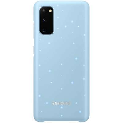 Samsung Galaxy S20 LED Cover Blauw