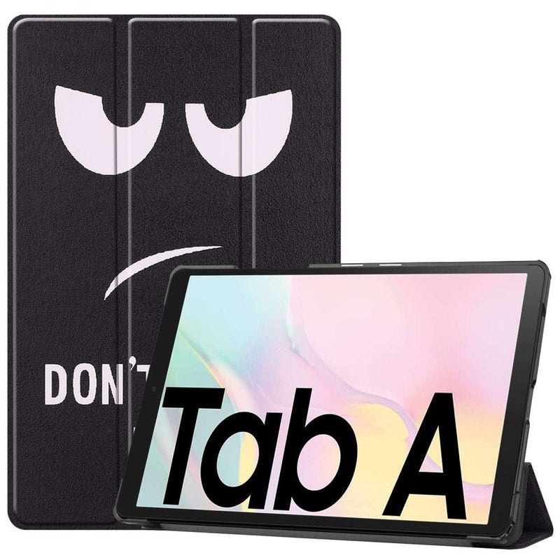 Just in Case Samsung Galaxy Tab A7 2020 Smart Tri-Fold Case Do Not Touch