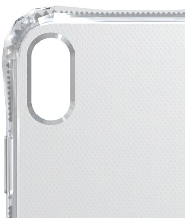 SoSkild Apple iPhone XS Max Transparant Hoesje Absorb Impact Backcover