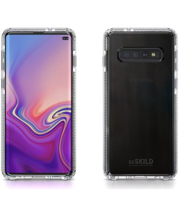 SoSkild Galaxy S10 Plus Backcover Defend Hoesje Transparant
