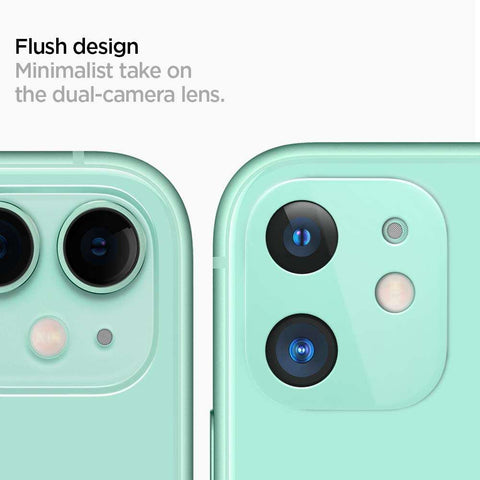 Spigen Apple iPhone 11 Camera Lens Glass Protector - Groen