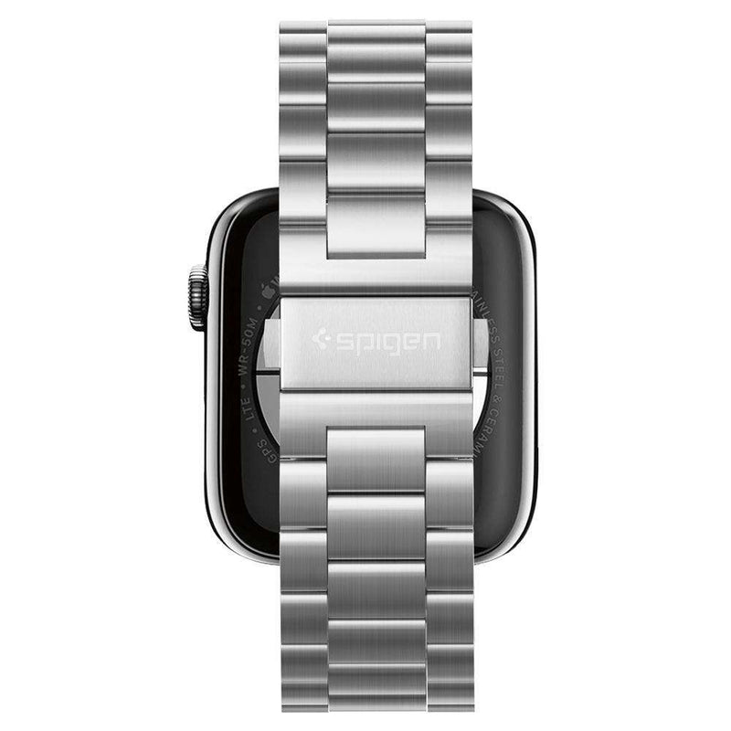 Spigen Modern Fit Armband Apple Watch 44MM / 42MM Zilver