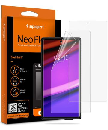 Spigen Curved Crystal Galaxy Note 10 HD Screen Protector  - 2 Stuks