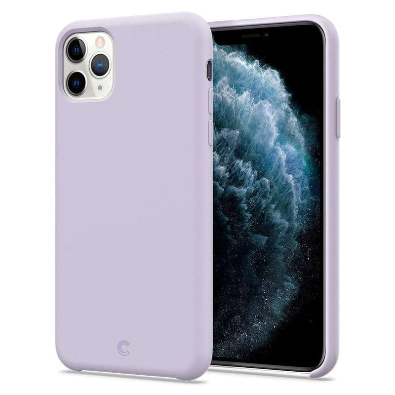 Spigen Cyrill Silicone Apple iPhone 11 Pro Max Hoesje - Paars