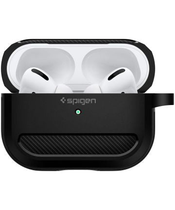 Spigen Rugged Armor Apple AirPods Pro Hoesje Zwart