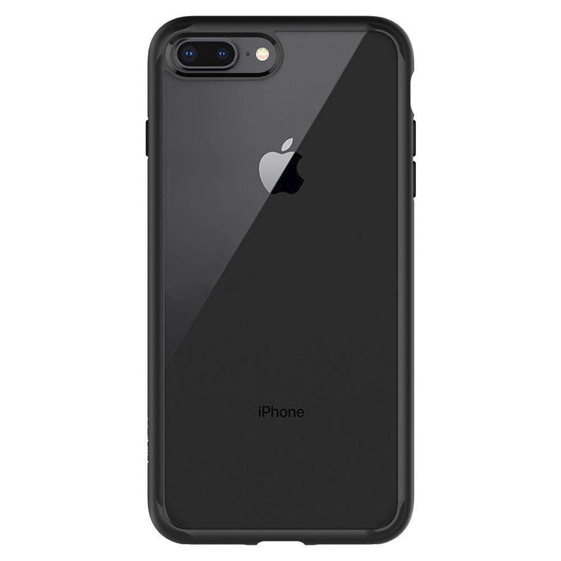 Spigen Ultra Hybrid 2 Apple iPhone 7/8 Plus Hoesje Zwart