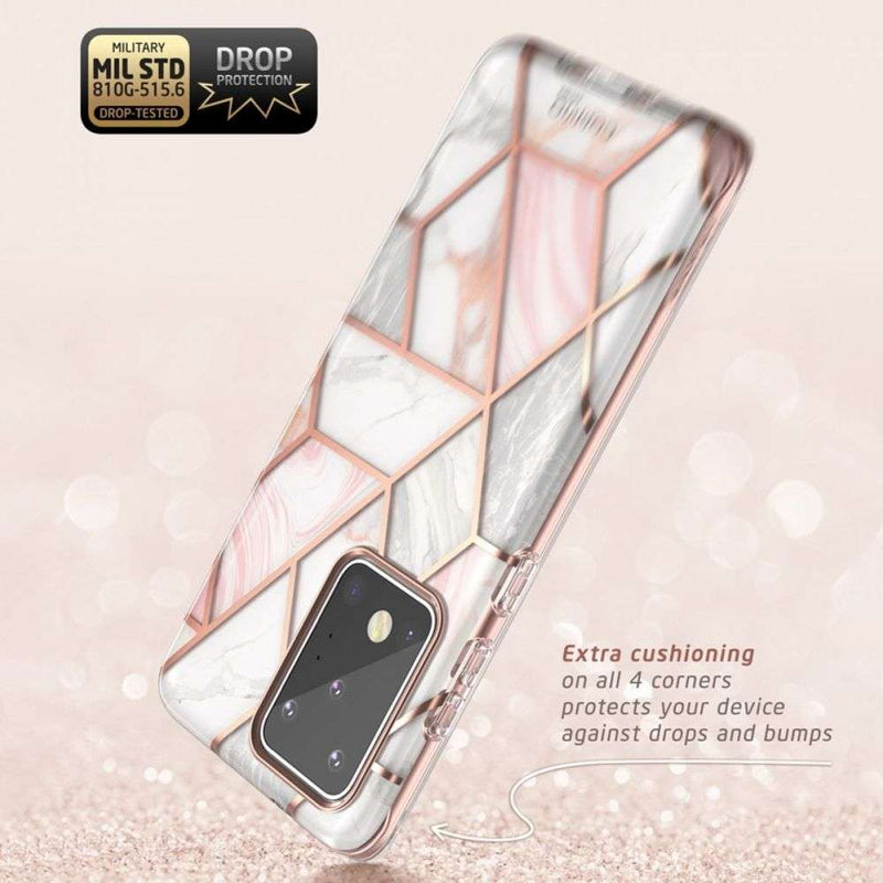 Supcase Cosmo Samsung Galaxy S20 Ultra hoesje - Marble