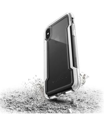 Raptic Clear Apple iPhone XS Max hoesje transparant wit