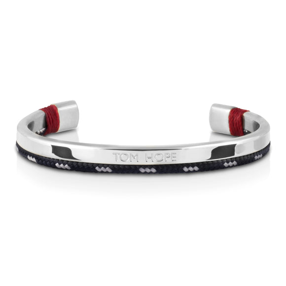 Jonc Tom Hope Hybrid Cuff Atlantic Red Silver-STYLES-TAMARA