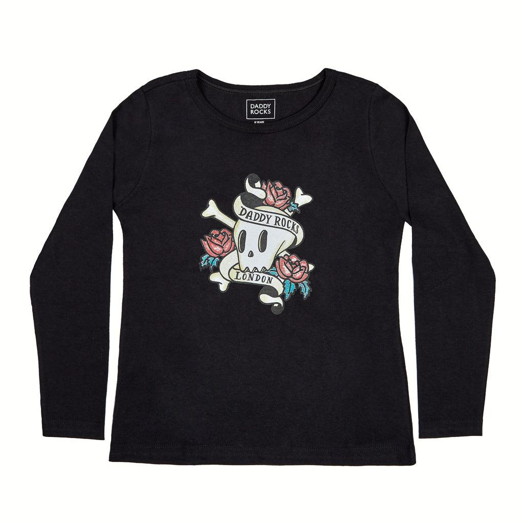PREMIUM LONG SLEEVE SHIRT SKULL CREW NECK