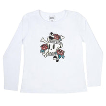 Load image into Gallery viewer, PREMIUM LONG SLEEVE SHIRT SKULL CREW NECK