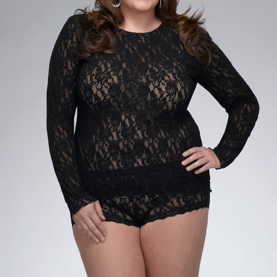 Signature Lace * Plus Size* Long Sleeve Top