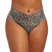 Classic Leopard Plus Retro Thong