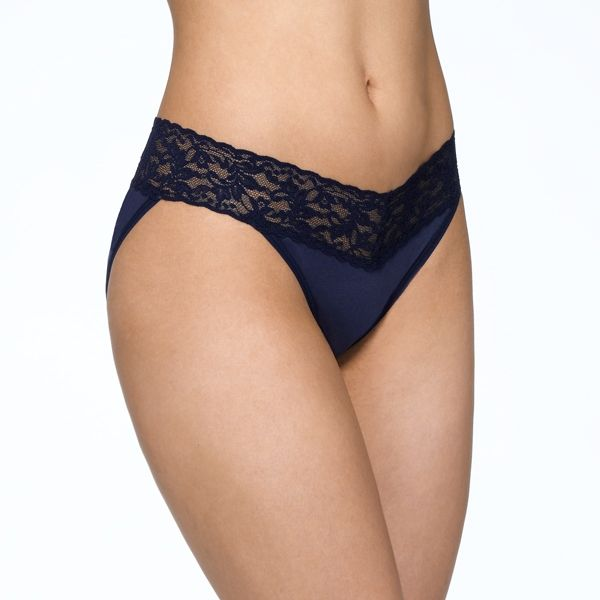 SUPIMA Cotton V-kini with Lace