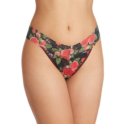 Papillion Rose Original Rise Thong