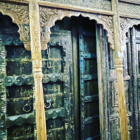antique doors and arches from india