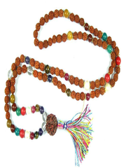 Earthing Meditation Mala Beads Nine Planets Navgraha Healing Stones Prayer Yoga Rosary Malas Yoga Necklace
