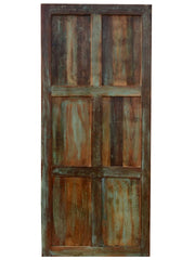Artistic Vintage Door Panel Barn Door Rustic Indian Carved Door, Headboard, Old World Elements, Unique Design, Farmhouse Door, 80X36