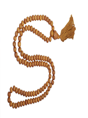 Buddhist Prayer Mala Beads Necklace/Bracelet Sandal Wood Energized Meditation Japa Mala