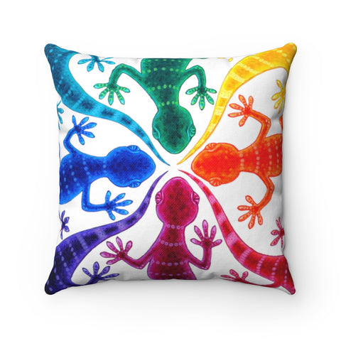 Circle of Geckos  - Accent Cushion