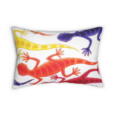 Floating Geckos  Accent Cushion