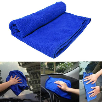 Car Soft Microfiber Cleaning Towel Car Wash Dry Clean Polish Cloth Motorcycle Detailing Care Kitchen Housework Towel Car Wash