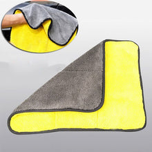 Load image into Gallery viewer, 30x30/40/60CM Microfiber Car Cleaning Drying Cloth Hemming Car Care Cloth Detailing Car Wash Towel Auto Wash Towel