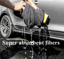 Load image into Gallery viewer, 60X160CM 600GSM Car Care Polishing Wash Towels Plush Microfiber Washing Drying Towel Strong Thick Car Cleaning Cloths rags