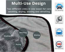 Load image into Gallery viewer, Professional Car Wash Microfiber Towel Car Cleaning Drying Cloth Hemming Car Care Cloth Detailing Car Wash Towel For Toyota