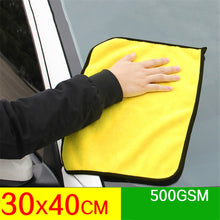 Load image into Gallery viewer, mling Super Absorbent Car Wash Microfiber Towel Car Cleaning Drying Cloth Extra Large Size 30x30/60 cm Drying Towel Car Care