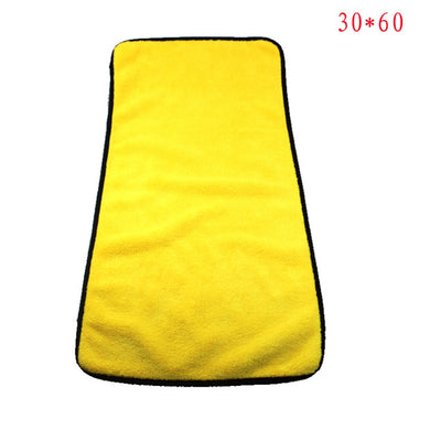 Velvet Glass Detailing Auto Window Cleaning Car Wash Towel Microfiber Cloth Coral Wipe Water Absorption Scouring Pad Car Styling