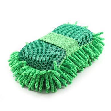 Car Wash Auto Hand Soft Towel Brush Microfiber Chenille Washing Gloves Coral Fleece Sponge Car Washer Auto Cleaning Accessories