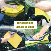 Load image into Gallery viewer, Thick 30x30/40/60CM Car Washing Cloth Towel Microfiber Car Drying Cleaning Cloth Car Care Car Wash Polishing Towel Accessories