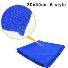 Load image into Gallery viewer, Car Soft Microfiber Cleaning Towel Car Wash Dry Clean Polish Cloth Motorcycle Detailing Care Kitchen Housework Towel  TXTB1