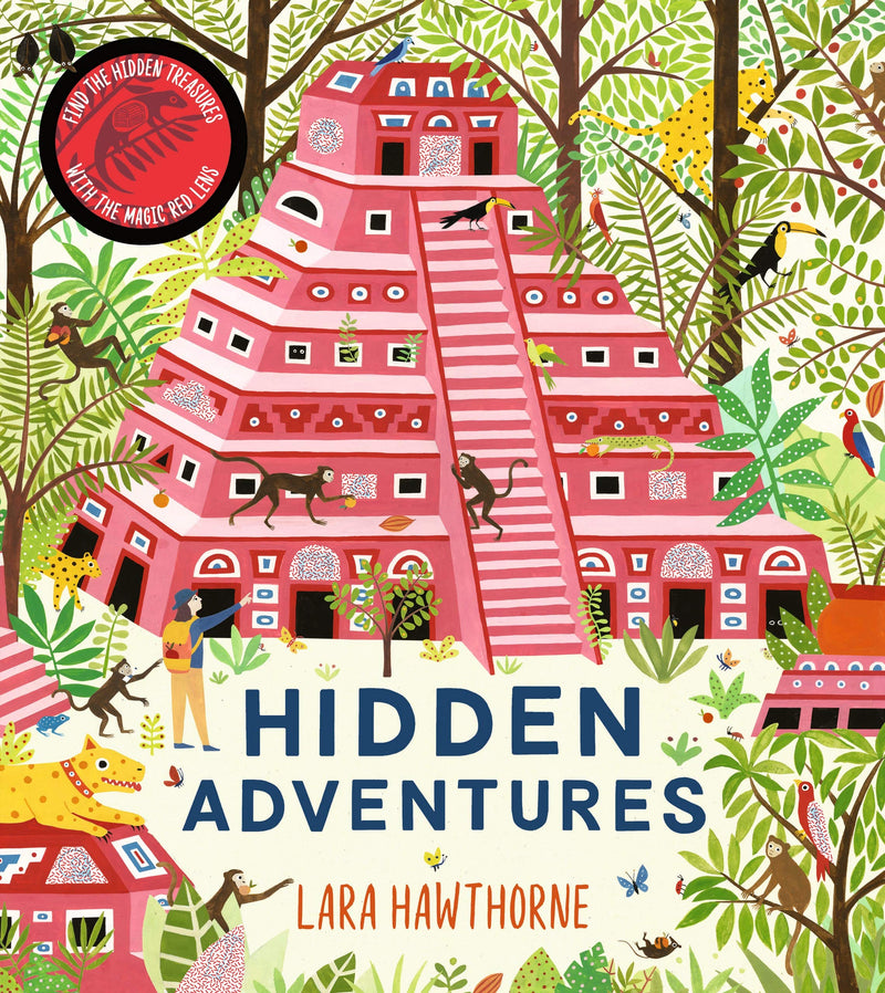 Hidden Adventures - Activity Book