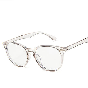 Imwete Anti Blue Light Computer Glasses Frame Men Women Transparent Gaming Glasses Frames Protection Eye Retro Spectacles Frames