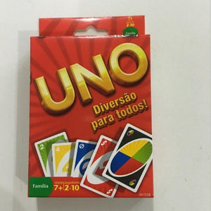 Mattel Games UNO Classic (Tin Box) Multiplayer Party Family Leisure UNO Poker Board Puzzle Games Cards Fun Poker Playing Cards