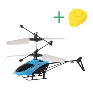 Mini RC Drone Helicopter Infraed Induction 2 Channel Electronic Funny Suspension Dron Aircraft Quadcopter Small drohne Kids Toys