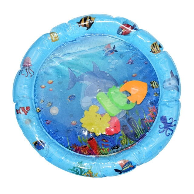 Creative Baby Water Mat Inflatable Patted Pad Cushion Infant Toddler Water Play Mat for Children Education Developing Baby Toys