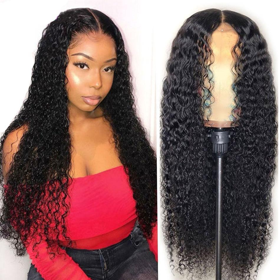 Beumax Hairs Human Hair Wigs with 4x4 Lace Front Closure - 180%
